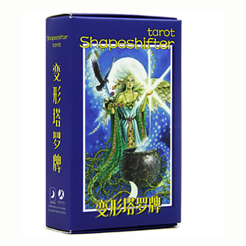 Shapeshifter Tarot Cards Divination Cards Game 12*7cm Cards Chinese Version For Family/Friends