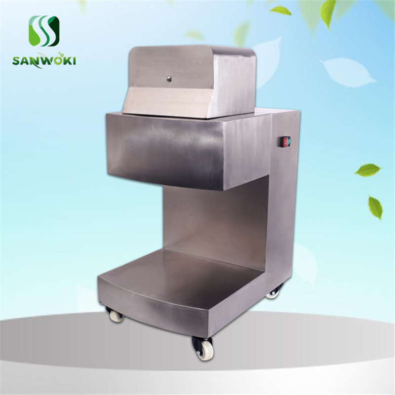 800KG H Commercial Meat Slicer Cutter Machine Fresh Meat Slicer Cutting thickness 2 20MM adjustable Meat