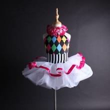 Vestidos C112 サポートダンス女の子女性カラフルなホルターバレエチュチュドレス子供大人のダンス衣装