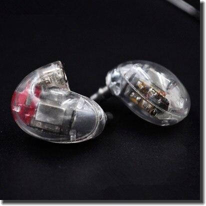 Woting DIY WT846 5BA In Ear Headset Balanced Armature Earphone Customer Made In Ear Headset With