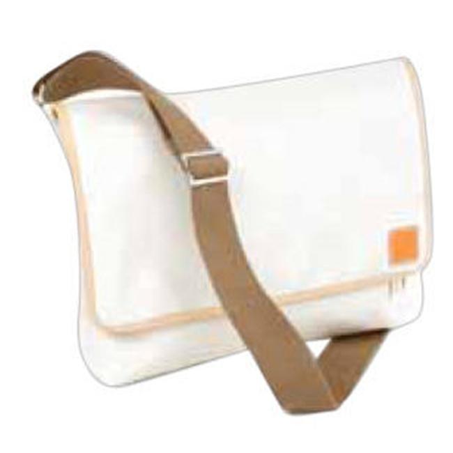 Clava 771025BLK Carina - Coated Canvas Ipad Messenger Tote Bag - Black сумка для документов burton tote true black canvas