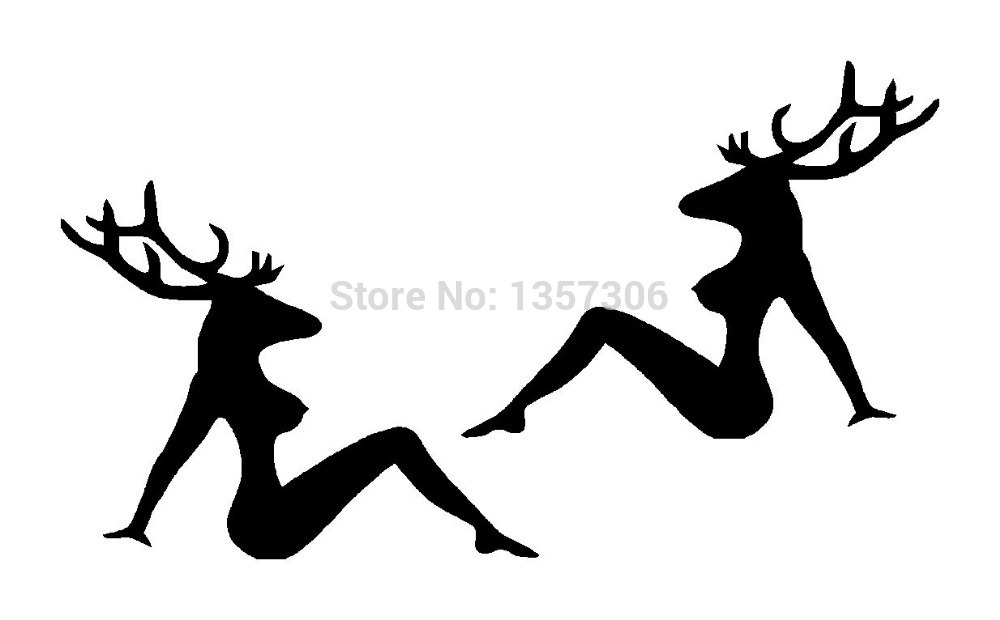 Online Get Cheap Deer Car Decals Aliexpresscom Alibaba Group - Vinyl decals for cars wholesale