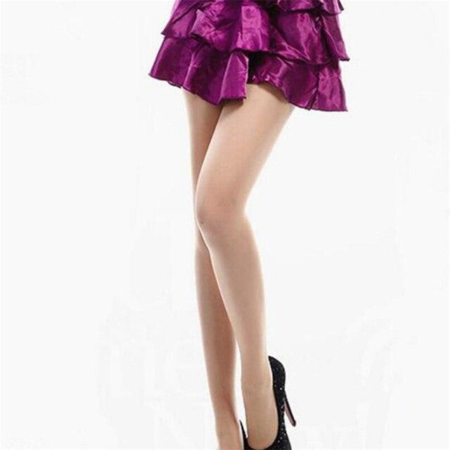 VIIANLES Sexy Tight Women's Stockings Thin Semi Sheer Tights Black Pantyhose Skin Panties Wholesale High Elasticity Pantyhose 3