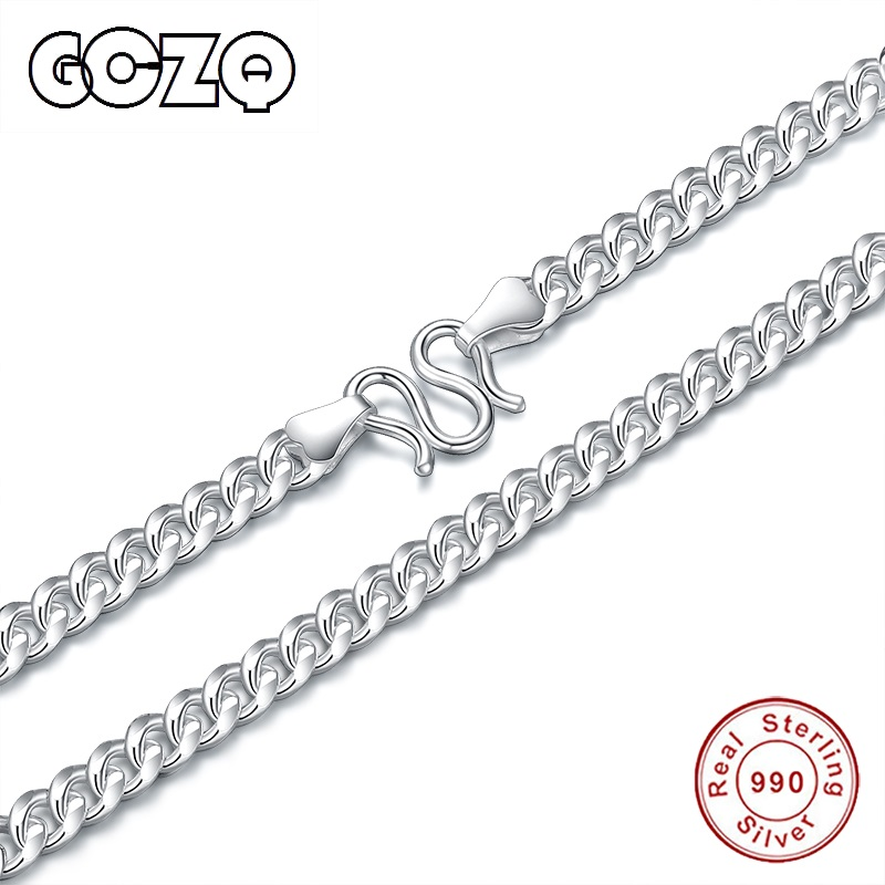 US $45.58 |GCZQ 100% standard pure silver men