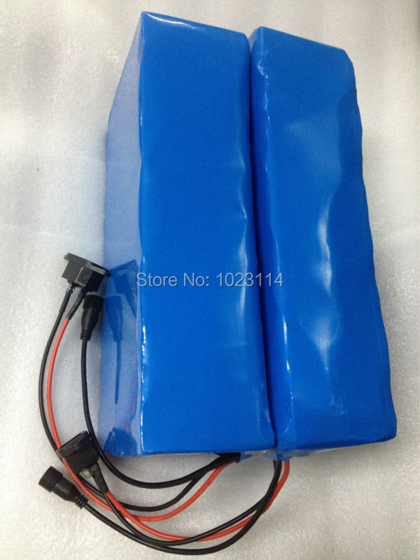 Fedex Free Shipping Electric Bicycle Battery 72V 20Ah with Charger BMS Lithium ion Electric font b