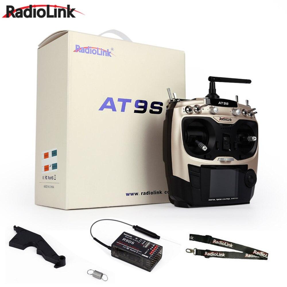 Radiolink AT9S R9DS Radio Télécommande Système SSD FHSS 2.4g 10CH Émetteur Récepteur pour Rc Quadcopter