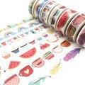 Nuestro diseño 2000 estilo jiataihe washi tape scrapbooking cinta kawaii decorado oro vintage cinta adhesiva bricolaje 1 rollos/lote envío gratis
