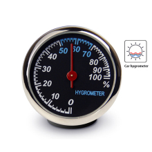 New Mini Car Automobile Digital Clock Auto Watch Automotive Thermometer Hygromet