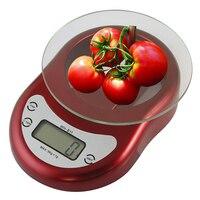 11 фунтов/5 кг Ёмкость 0.1 унц./2 г прирост Премиум Электронных цифровой Кухня Еда Весы для выпечки пособия по кулинарии
