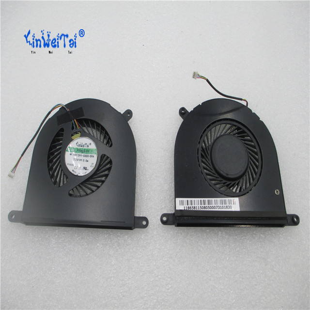 "2PCS CPU fan for GIGABYTE  Razer Blade 14"" RZ09-01161E31 / RZ09-01161E31-R3U1 laptop cpu cooling fan cooler DFS501105PQ0T FCBQ"