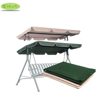 Coral Coast Tortuga Cay 2 Person Swing Canopy Replacement 67x47170X120cm -Dark Green/Beige,Free shipping Top cover