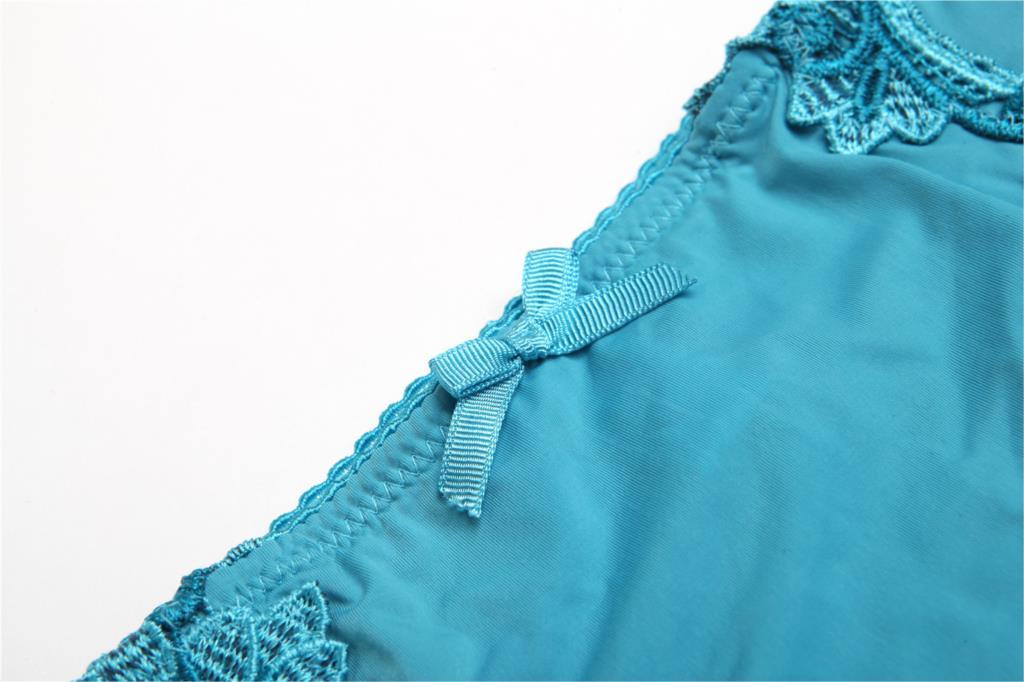 Lace bra flowers side thick push up adjustment bra sexy ladies underwear bra set