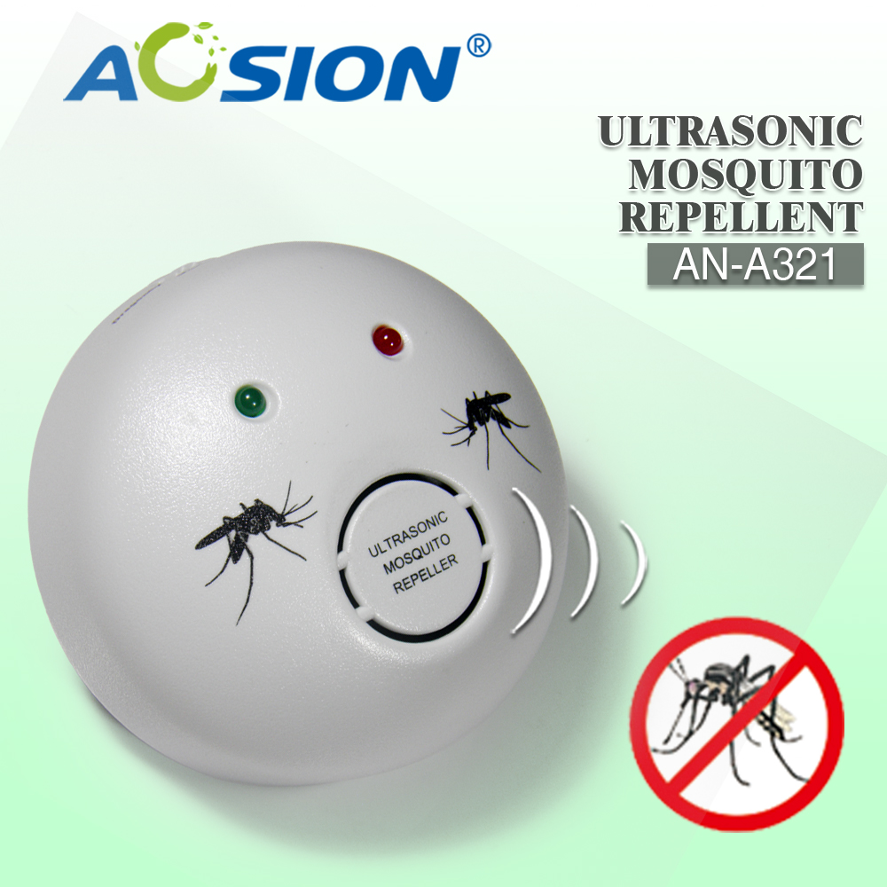 Aosion against Zika Virus indoor Electronic Ultrasonic mosquito fly bug pest inscet repeller control reject AN-A321 EU Plug image