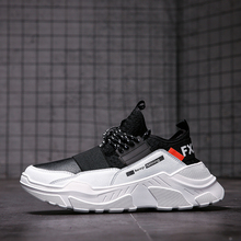 2019 Male Lace-up Men Sneakers High Quality Man Non Slip Comfortable Ca