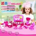 Nova chegada casa de jogo de simulação brinquedos de cozinha do bebê multifuncionais elétrica criança educação infantil menina cozinheiro sui