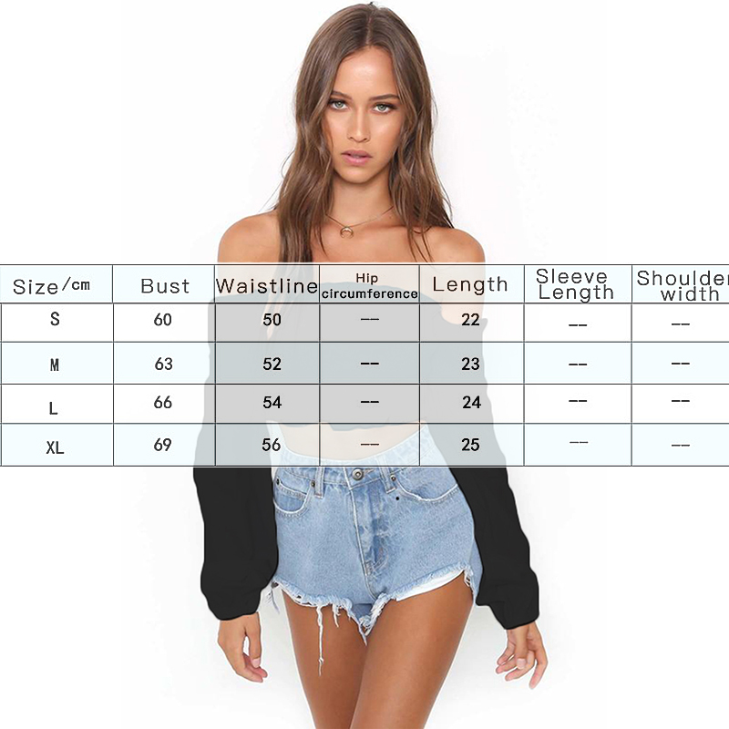 Sexy Off Shoulder Long Sleeve T shirt Top Tube For Women Party Bustier Crop Top Elastic Tube Club Women Top For Female in T Shirts from Women 39 s Clothing