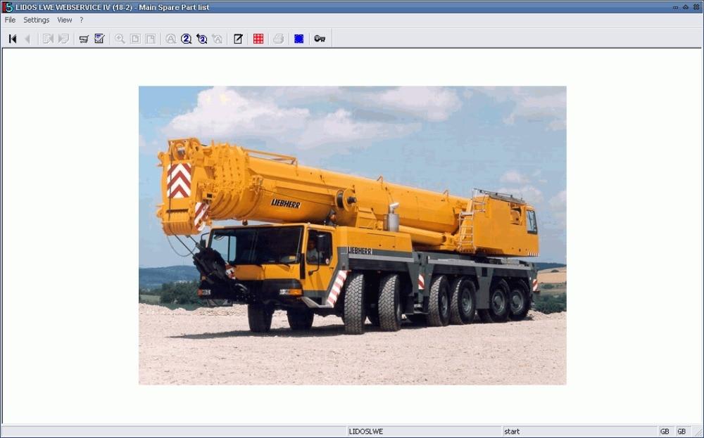 Liebherr Lidos LWE ONLINE WEBSERVICE - Mobile Cranes 2020