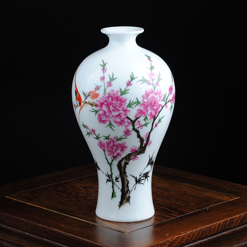 Free Shipping Mini delicate chinese famille rose porcelain flower - Home Decor - Photo 2