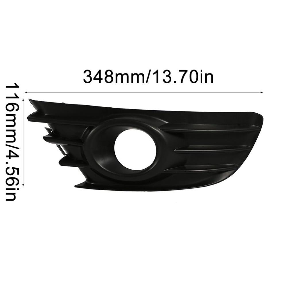 kexinda Remplacement pour Citroen C4 Pare-Chocs Avant 2004-2008 lat/éral Gauche ABS Lampe de Brouillard Couverture Couverture antibrouillard Cadre
