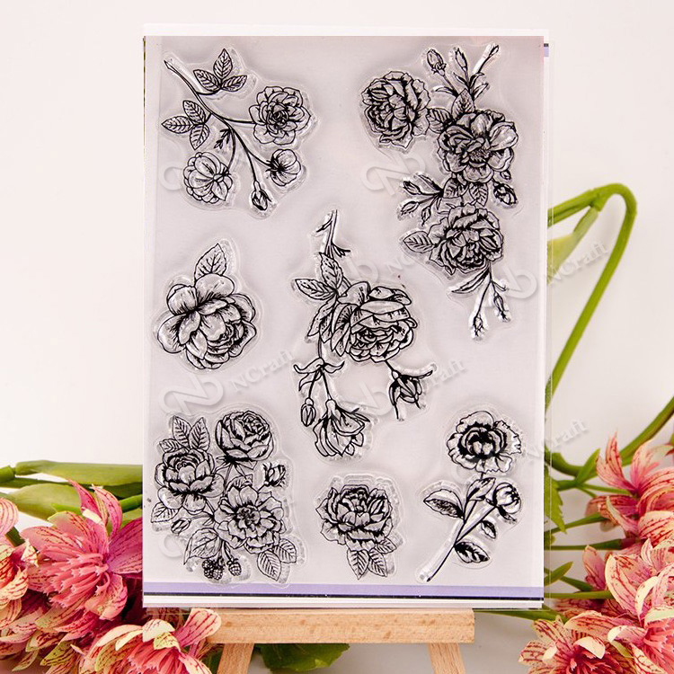 NCraft Clear Stamps N2040 Scrapbook Paper Craft Clear stamp scrapbooking
