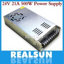 Controlador del interruptor de la fuente de alimentación para tira de luces LED, 24V, 20A, 480W, 110V/220V, envío gratis