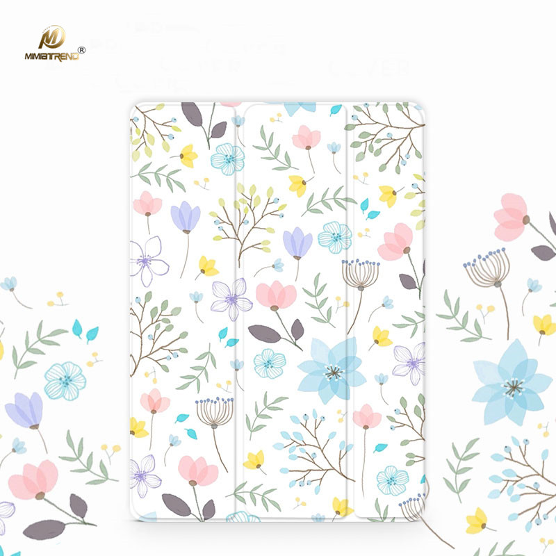 Mimiatrend Beautiful Flowers PU Case for iPad Pro 9.7 Air Air2 Mini 1 2 3 4 5 Tablet Case Shell + Screen Protector + Phone Case mimiatrend tige for apple ipad air 1 2 air2 flip pu leather case smart cover for new ipad 9 7 2017 tablet case for ipad pro 9 7