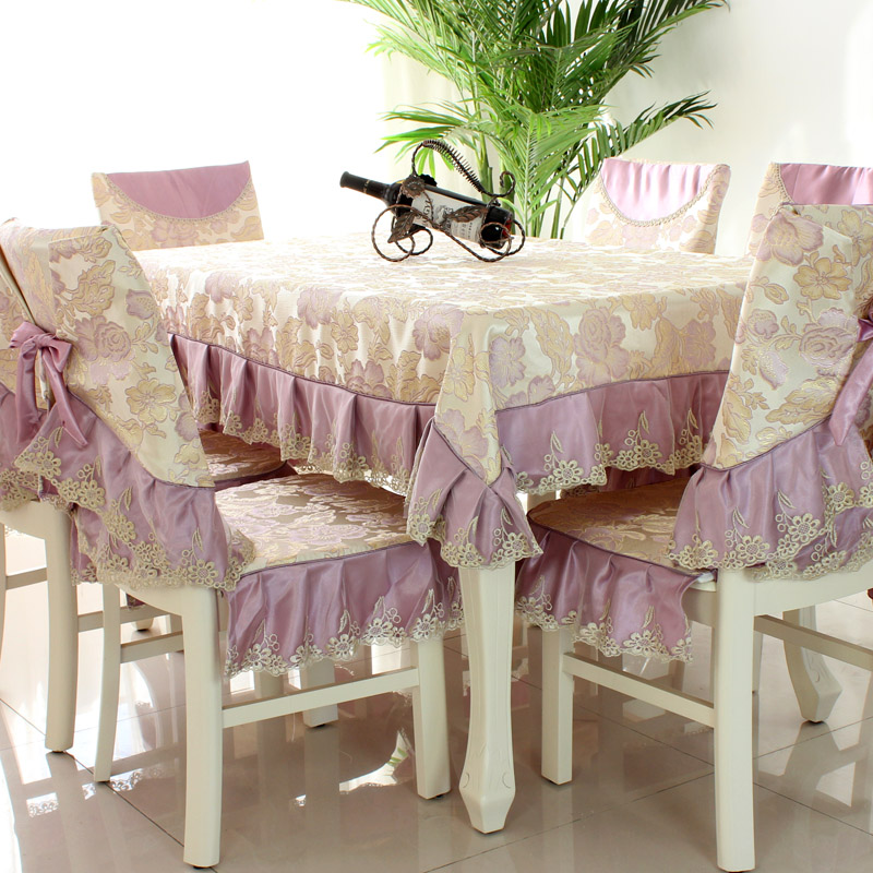 Marvelous Us 34 1 33 Off Fashion Top Grade Dining Table Cloth Chair Covers Cushion Tables And Chairs Bundle Chair Cover Rustic Lace Cloth Set Tablecloth In Creativecarmelina Interior Chair Design Creativecarmelinacom