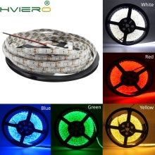 5M White 3528 SMD LED Waterproof Flexible IP65 Strip 600 LEDs 120leds/m White Warm-White Red Green Blue Yellow