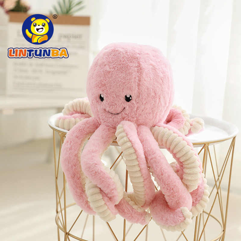Cute octopus plush toy doll soft baby sleep appease toy octopus doll birthday gift