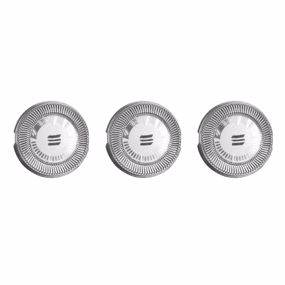 3pcs/lot Professional Shaver Razor Head Replacement Blades Cutters Shaver Head For Philips Norelco HQ9 HQ8 soccer-specific stadium