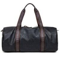 Men S Travel Bags Oil Wax Leather Handbags Luggage Bolsa Depo Portable Shoulder Men Casual Package
