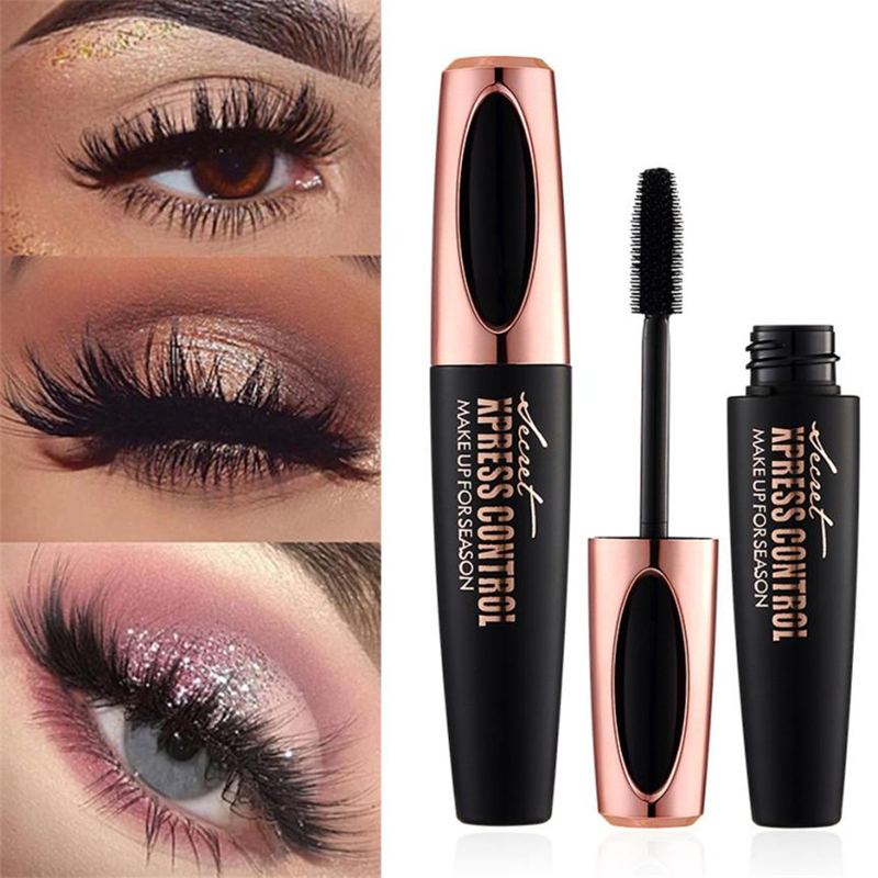 Drop-Shipping-4D-Mascara-Back-eye-mascara-silk-fiber-Make-UP