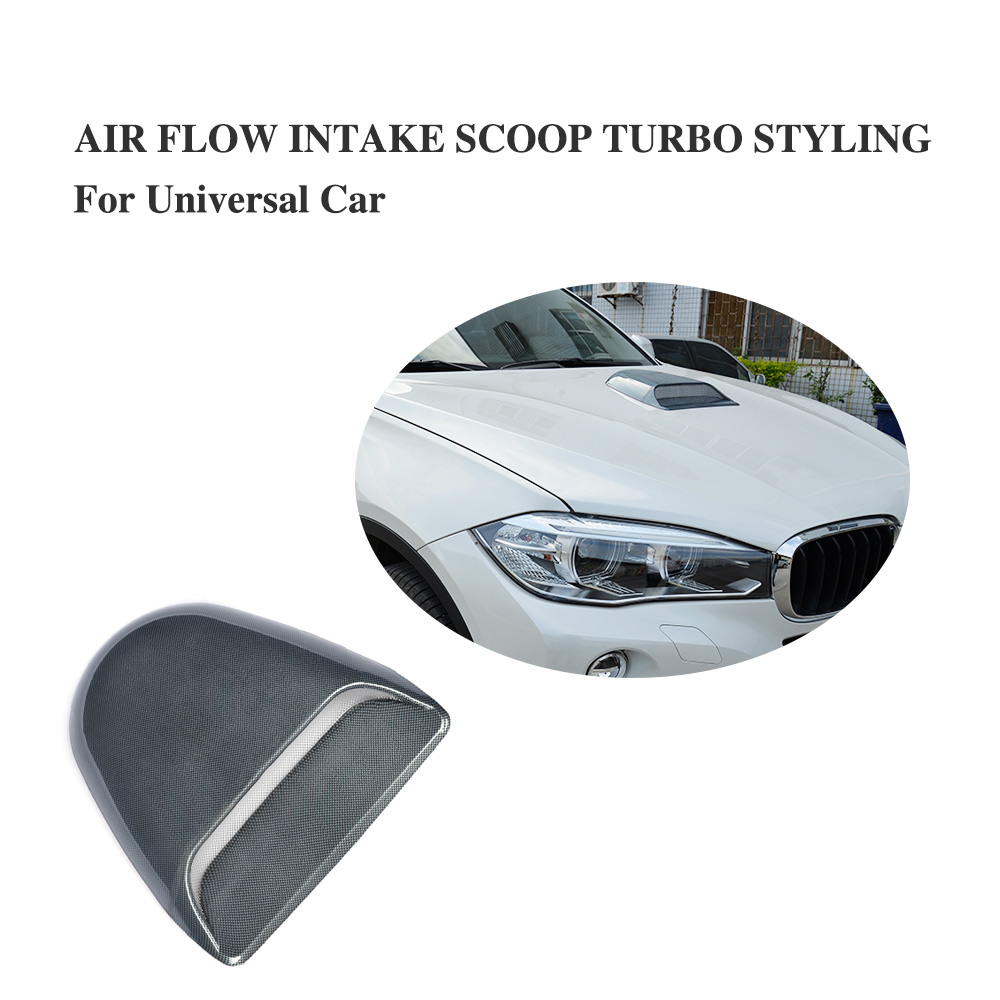 Universal Auto decorative Air Flow Intake Scoop Turbo For BMW For Audi For VW For Benz T ...