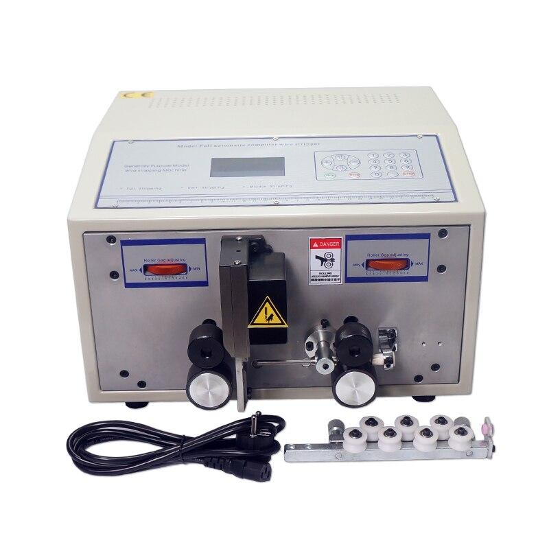 Entièrement automatique 0.1-2.5 millimètre carré ordinateur dénuder machine SWT508C avec redresseur pour fils de coupe