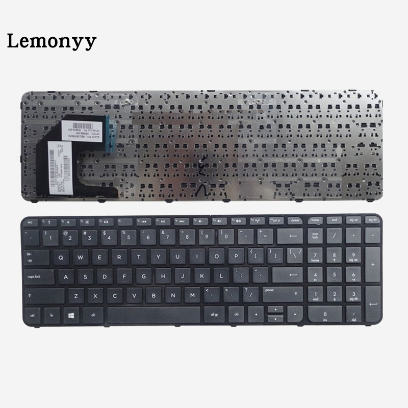 цена на US Keyboard FOR HP Pavilion Sleekbook Ultrabook 15 15-B 15-b000 15-b100 15T-B 15t-b100 15t-b000 15Z-B US With border