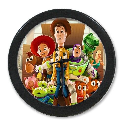 Brand New Custom Toy Story Elegant Wall Clock 9 65 Inch In Wall