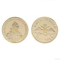 2018 Meaningful Commemorative Coin Russian Bird Human Collection Art Gift Bitcoin Alloy Souvenir Noncurrent Coin