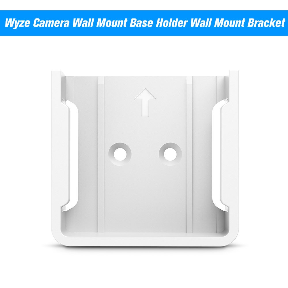 Wyze Camera Wall Mount Base Holder Wall Mount Bracket For Wyze Cam Smart Camera And ISmart Alarm Spot Camera Protect From Drop