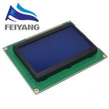 10Pcs 128*64 DOTSโมดูลLCD 5Vหน้าจอสีน้ำเงิน 12864 LCDพร้อมBacklight ST7920 พอร์ตขนานLCD12864