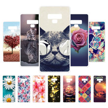 Vanveet Painted Cases For Samsung Galaxy Note 9 Case Silicone For Samsung Galaxy Note9 Cases Back Cover Fundas Coque Housing(China)