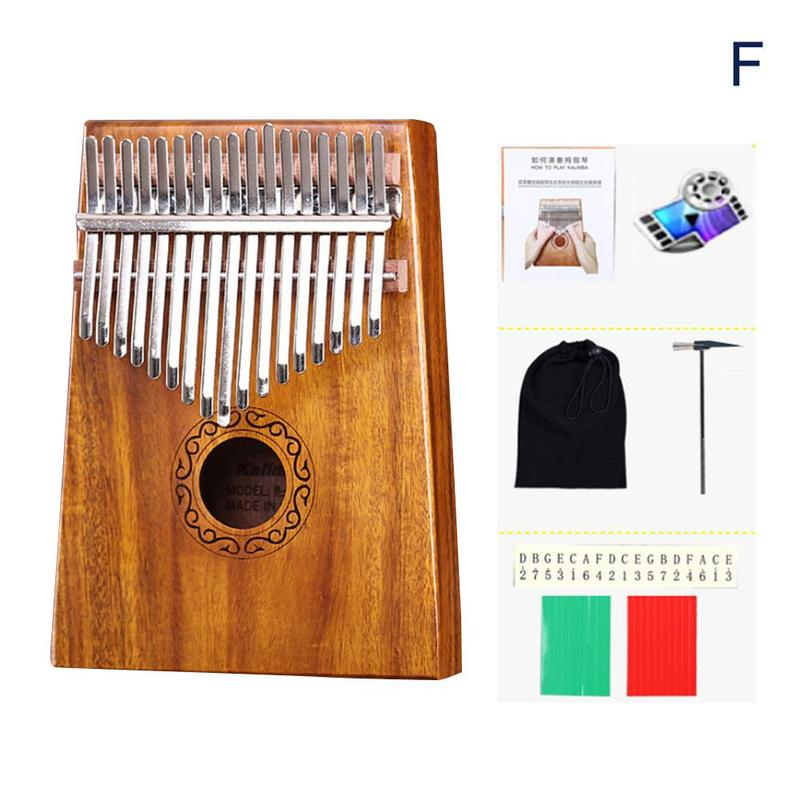 kalimba mbira polegar piano educação brinquedo instrumento