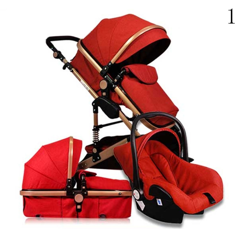 3 In 1 High Landscape Baby Stroller Handle Basket Frame Imported Cortical Baby Trolley Lightweight Folding Baby Sleeping Basket fast oscillations in cortical circuits