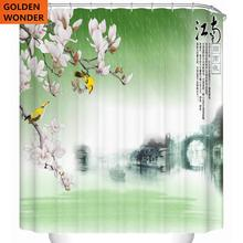 New Arrival Curtains Shower Curtain Waterproof Bathroom For Polyster