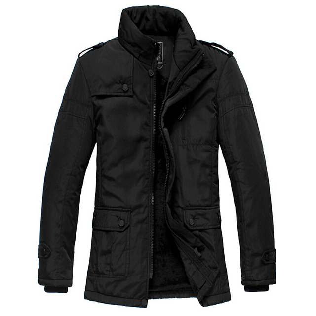 1064fba95f9 Hot Winter Jacket Men Thickening Casual Cotton Jackets Waterproof Windproof  Breathable Coat Mens 2016 New parka Brand clothing