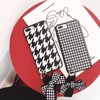 Luxury Fashion 3D Sling Swallow Grid Soft TPU Mobile Phone Cases For IPhone X 8 7