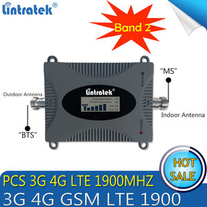 Image 2 - Free Shipping 3G PCS LTE 1900 Mhz Cell Phone Signal Repeater GSM 3G 4G mobile signal Booster 1900mhz cellular signal amplifier