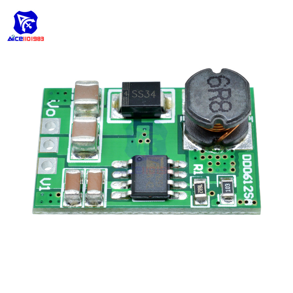 3.5A DC-DC 3V 3.3V 3.7V 4.2V 5V to 5V 6V 9V 12V Step-Up Boost Converter Voltage Regulate Power Supply Module Board