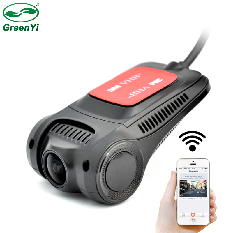 Greenyi Car DVR Camera Novate Dashcam Mini Android-Apple Video-Recorder Wifi Hidden 96655
