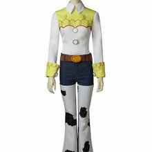 ed2c777ffca8 Cosplaydiy juguete historia cantar vaquera Jessie traje del traje de Cosplay  de Halloween Disfraces de Carnaval trajes para adul.