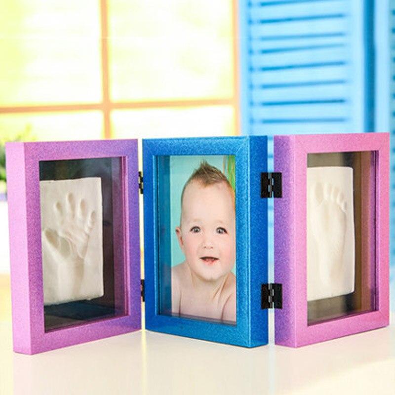 Molduras para fotos balanço define criança criativa nascido bebê - Decoração de casa
